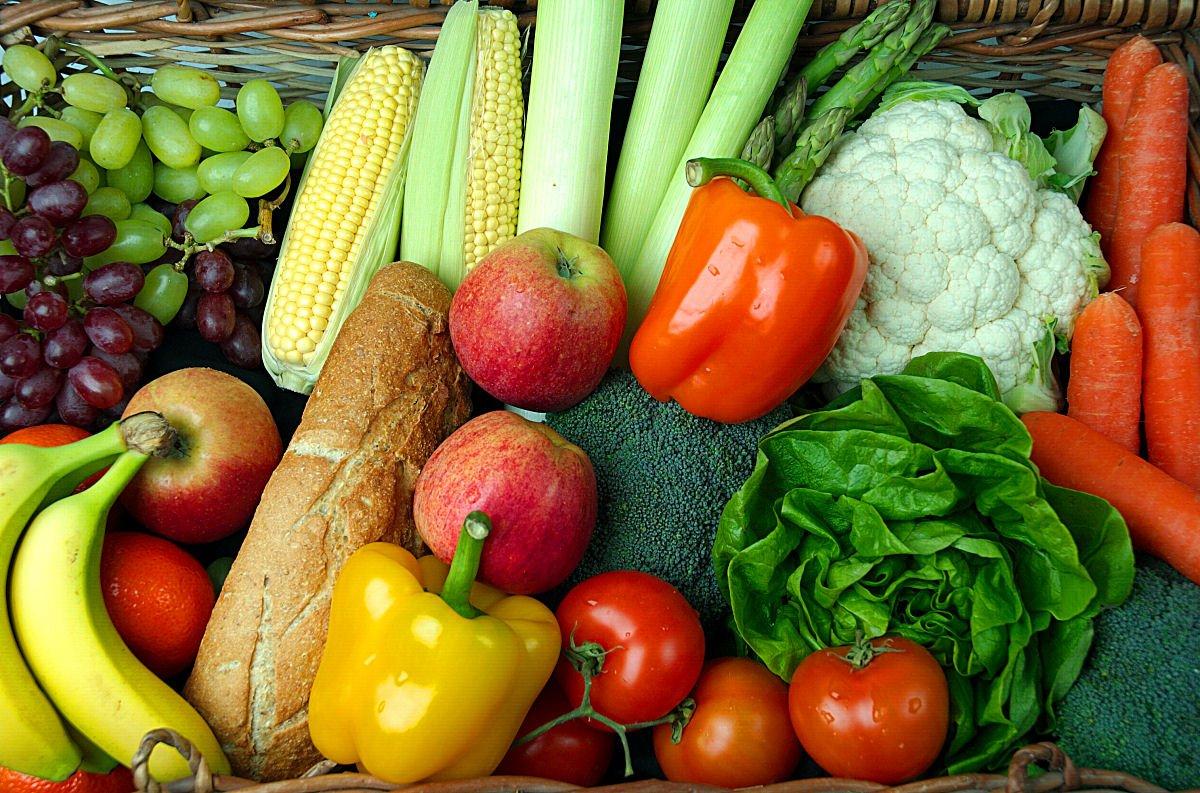 Productos vegetales | Foto: Chris Johnson/Freeimages.