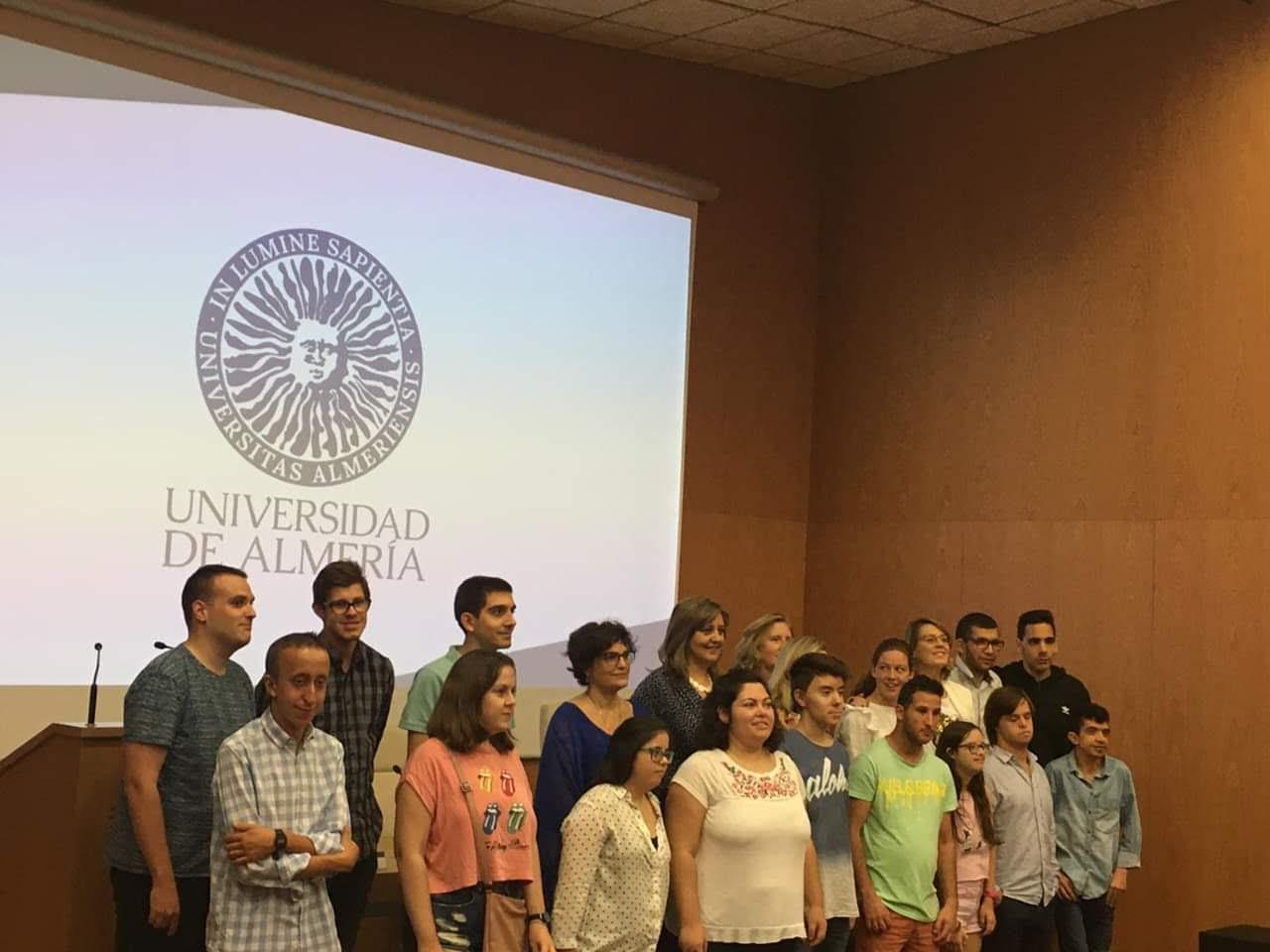 Foto de la graduación del curso 2020-21 en esta misma universidad